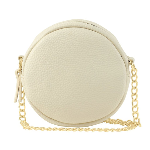 Lily Mini Crossbody - Cream - Jules Kae Handbags and Accessories