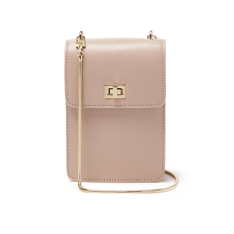 Ceci Cellphone Bag - Dusty Nude - Jules Kae Handbags and Accessories