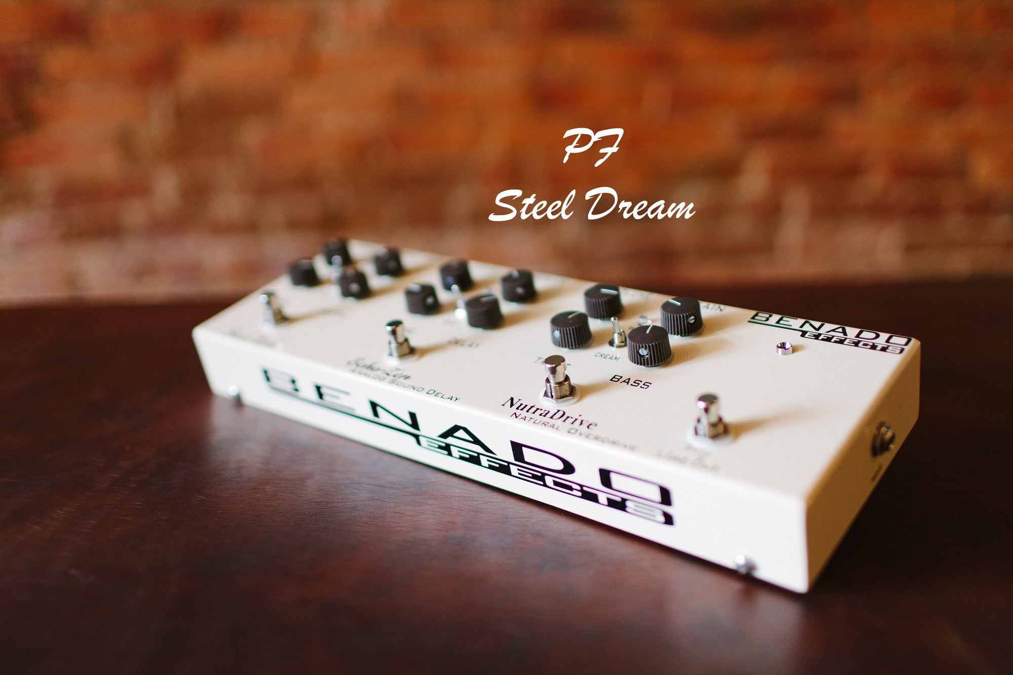 The PF-Steel Dream <br> Benado Effects -  (Paul Franklin signature).