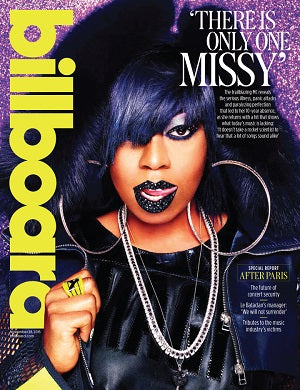 Billboard Magazine November 2015 Cover