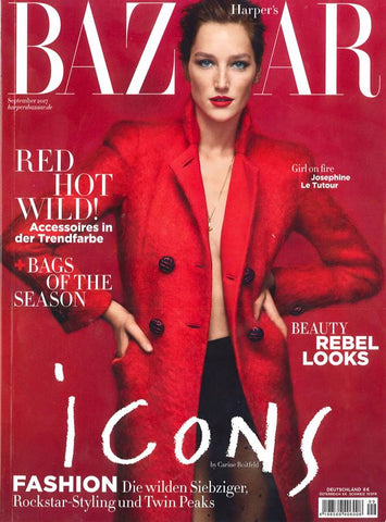 Harper's Bazaar (Germany) - Sept 2017