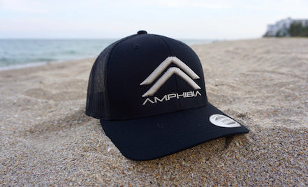 Classic Double A Snapback (Black/Black/Sand)