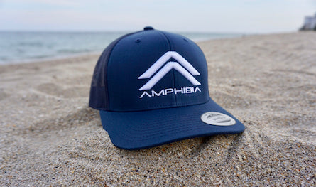 Classic Double A Snapback (Navy/Navy/White)