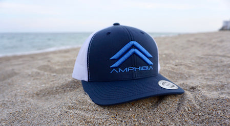 Classic Double A Snapback (Navy/White/Ocean Blue)