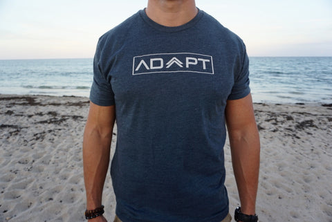 Adapt T-Shirt (Heathered Navy)
