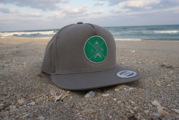 Land & Sea Snap Back (Grey/Green)