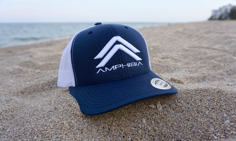 Classic Double A Snapback (Navy/White/White)