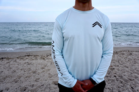 Classic Amphibia Performance Long Sleeve (Arctic Blue)