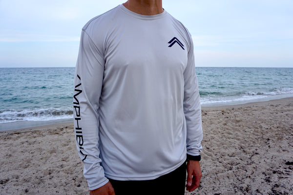 Classic Amphibia Performance Long Sleeve (Pearl Grey)