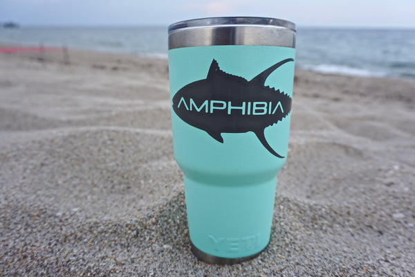 AMPHIBIA Tuna Decal Small (Dark Grey)