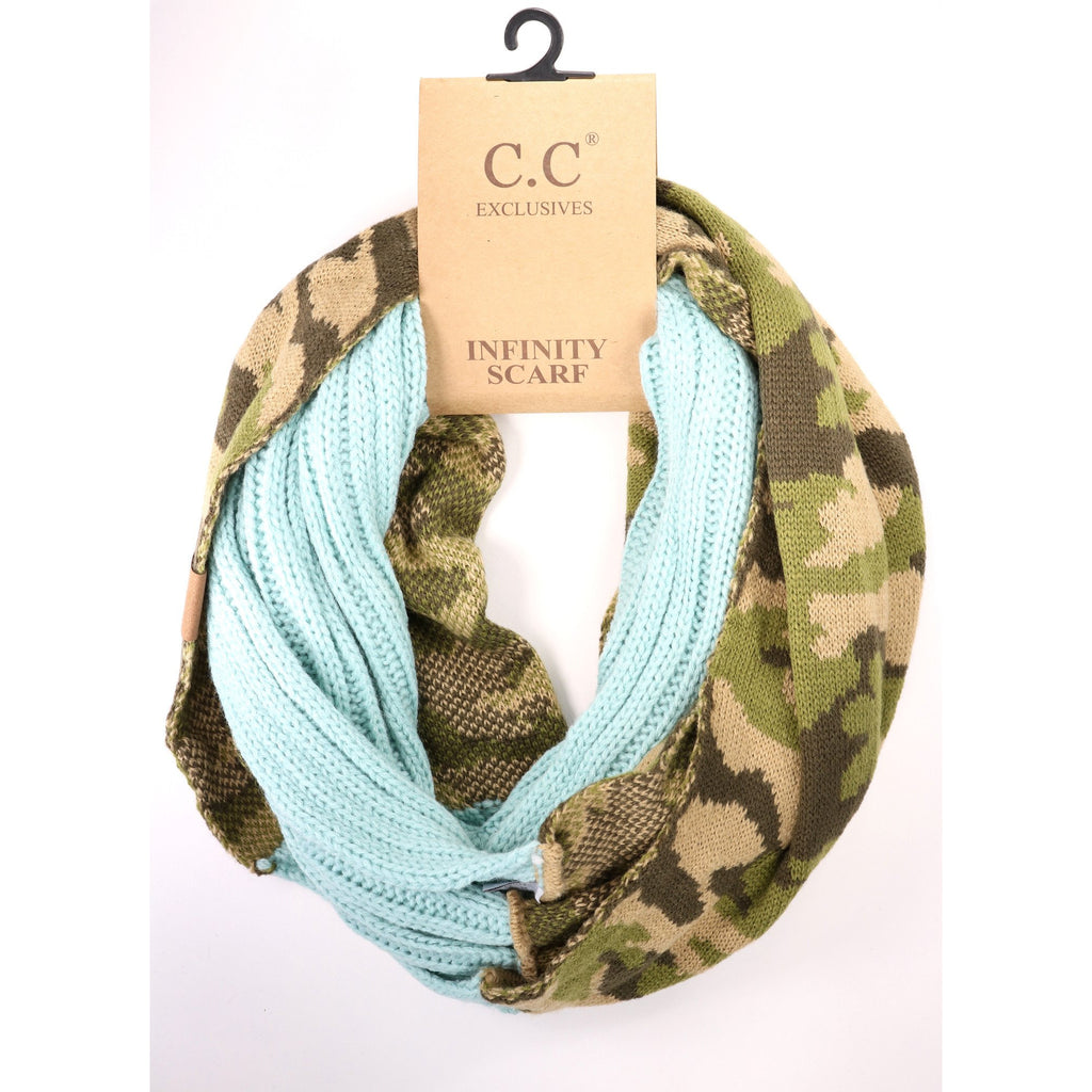 Camouflage CC Infinity Scarf SF46