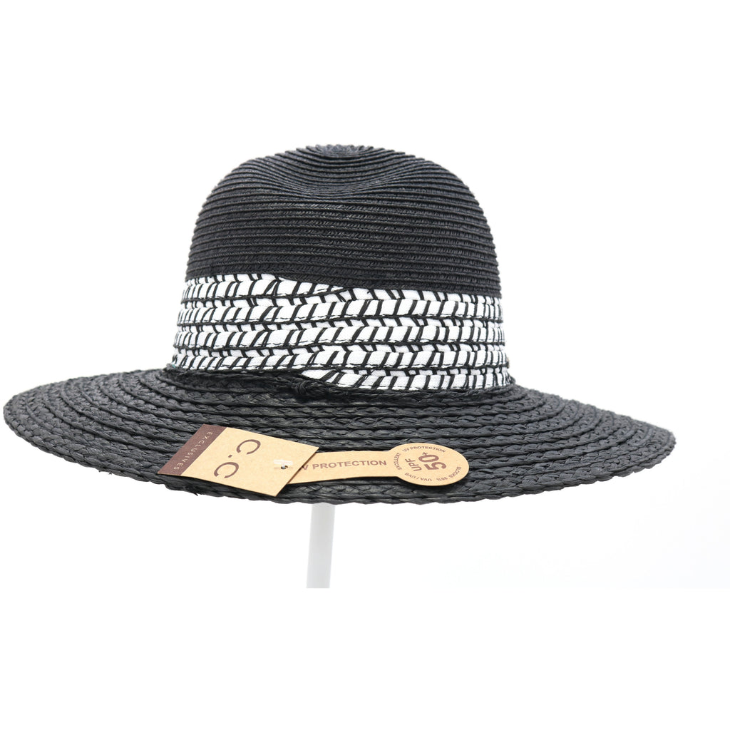 Panama Hat Whip Stitch Detail ST803