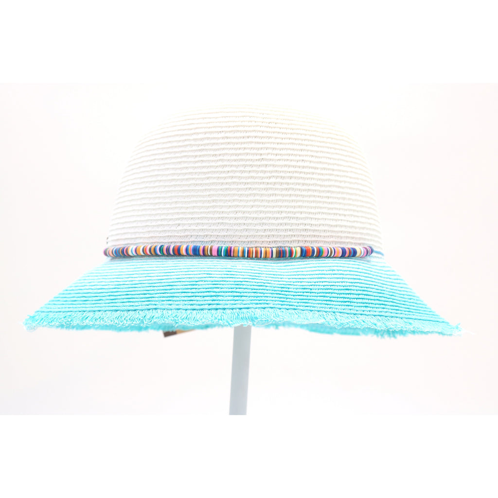 Ombre Paper Straw Cloche Hat ST808