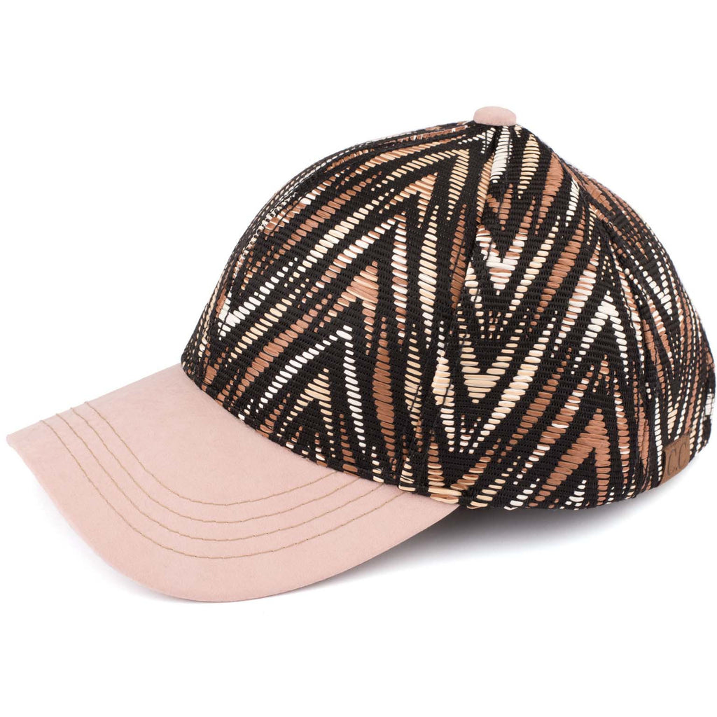 Chevron Embroidered CC Ball Cap