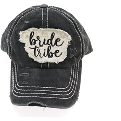 Distressed Bride Tribe Patch CC Ball Cap BA2019BT