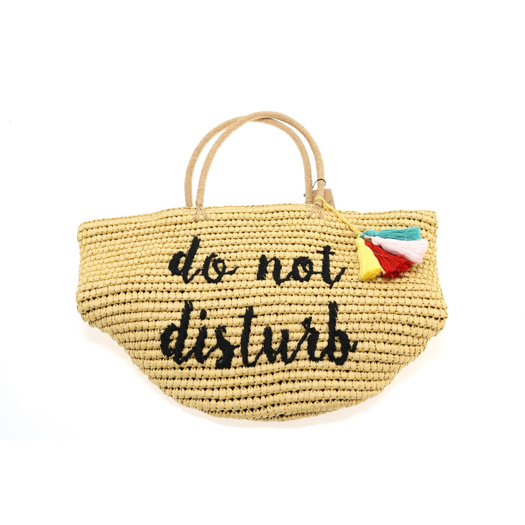 CC Straw Embroidered Beach Bag BG2017