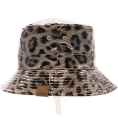 Leopard Reversible Rain Bucket Hat BK3695