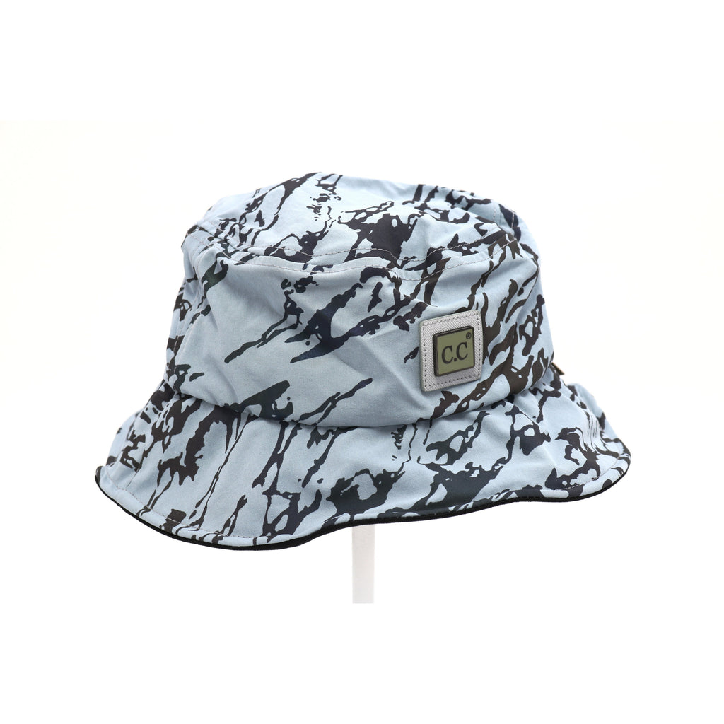 Reflective Geometric Print Bucket Hat BK778