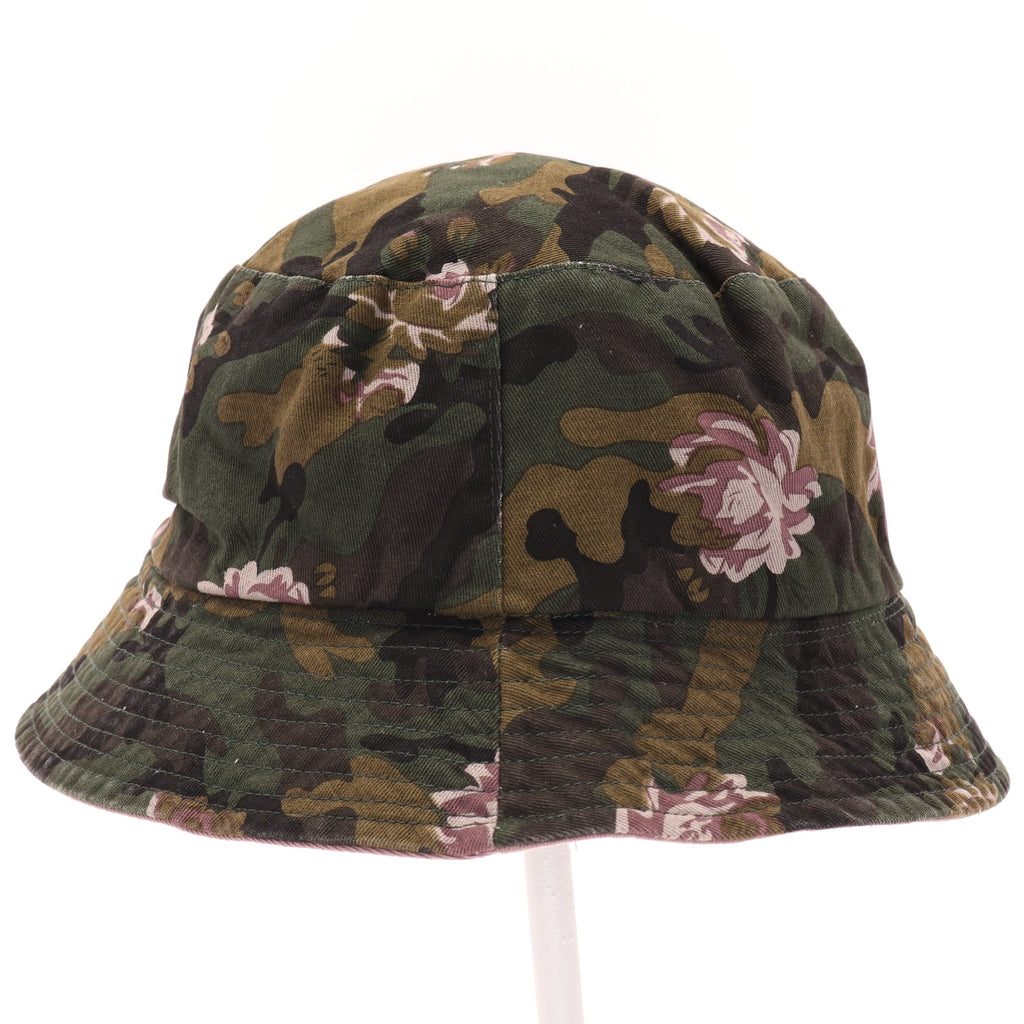 Floral Camouflage Reversible Bucket Hat BK925