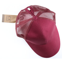 Classic High Ponytail CC Ball Cap BT4