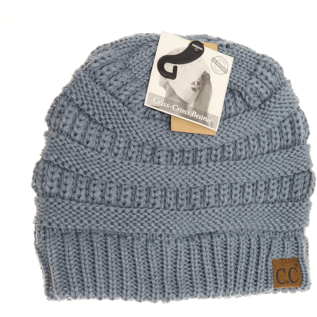 Criss-Cross Knit Beanie CCB1