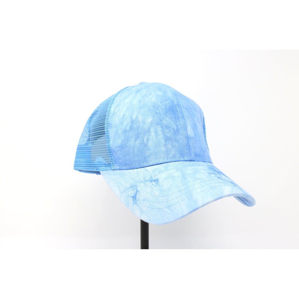 Tie Dye High Ponytail CC Ball Cap