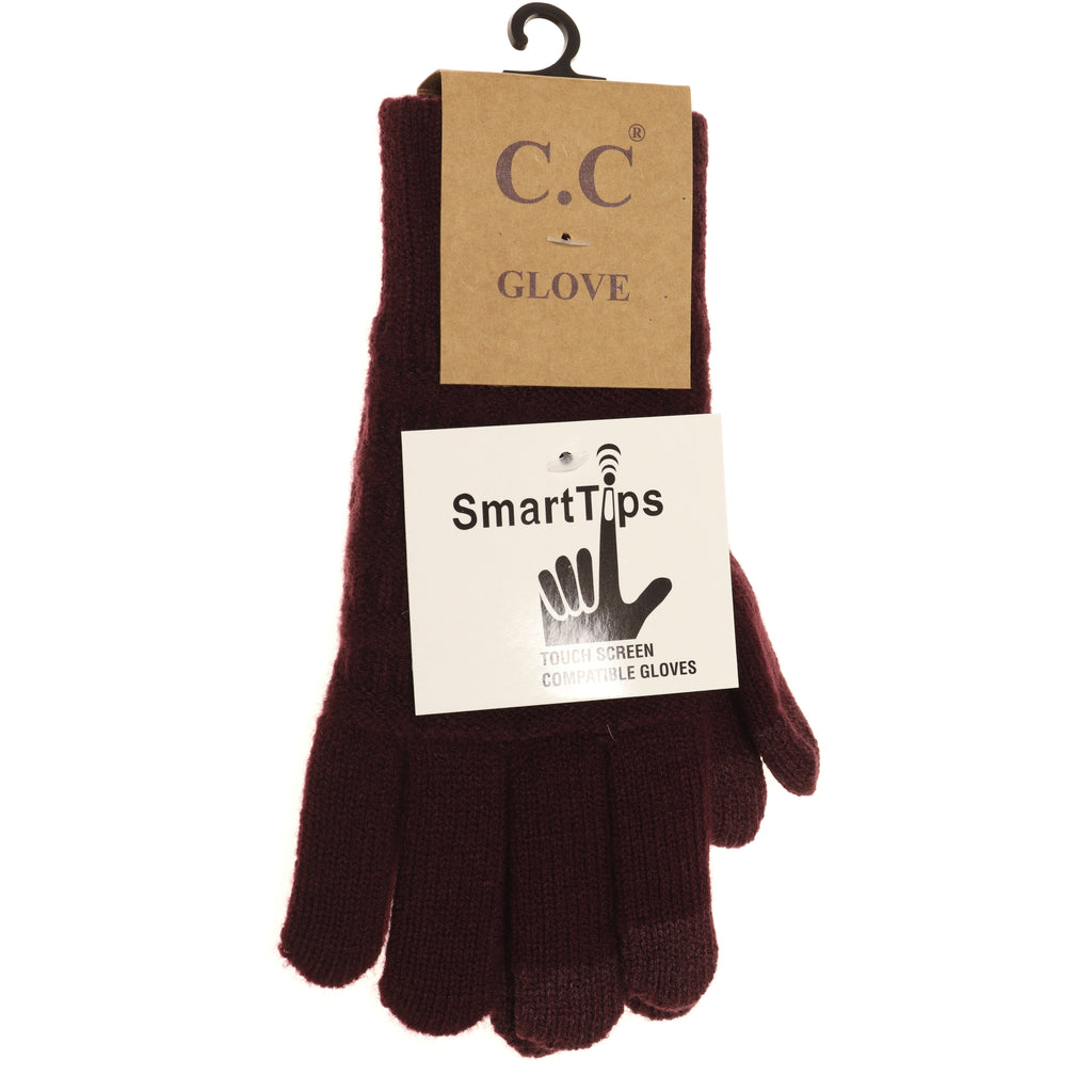 Classic Knit Gloves G9018