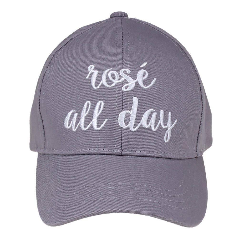 Rose All Day Embroidered CC Ball Cap BA2017RAD