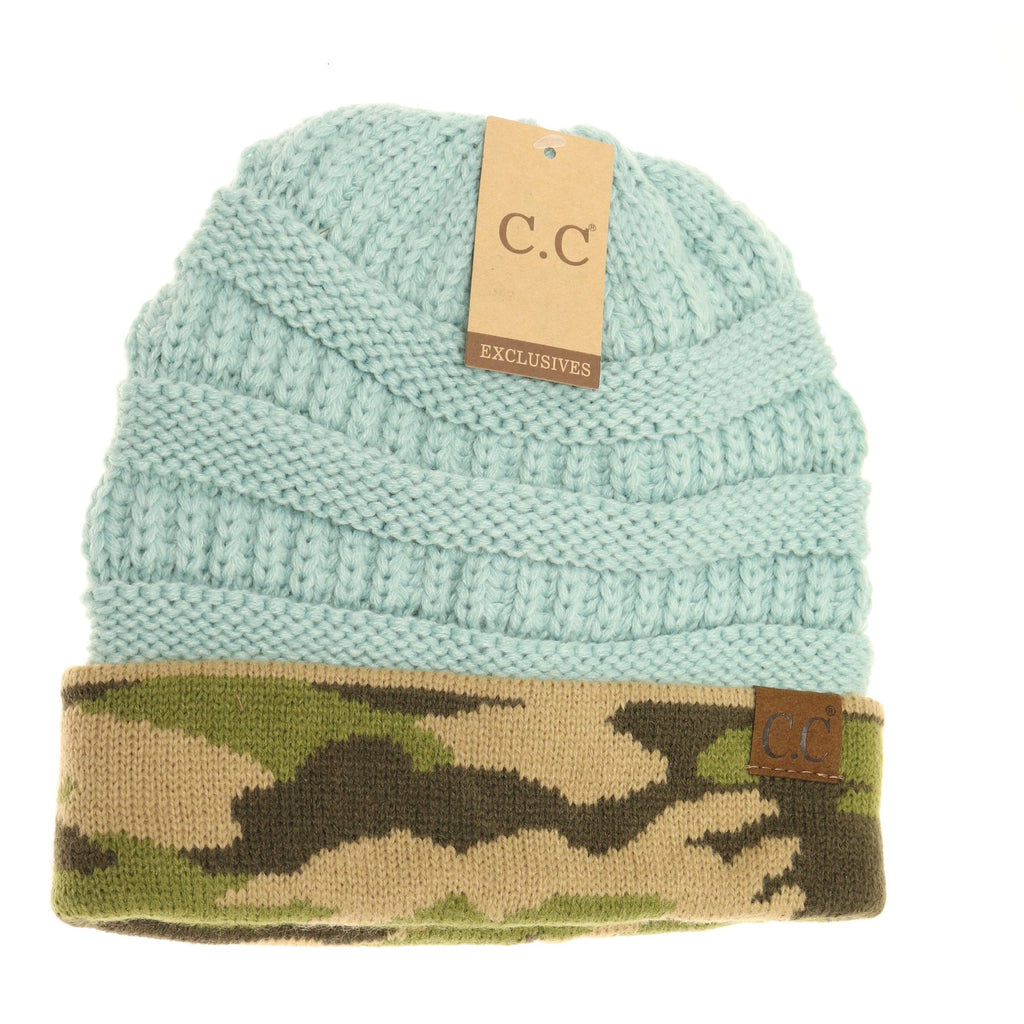 Camouflage CC Beanies HAT46