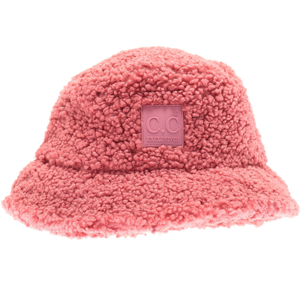 Sherpa Bucket Hat with Rubber Patch KP008