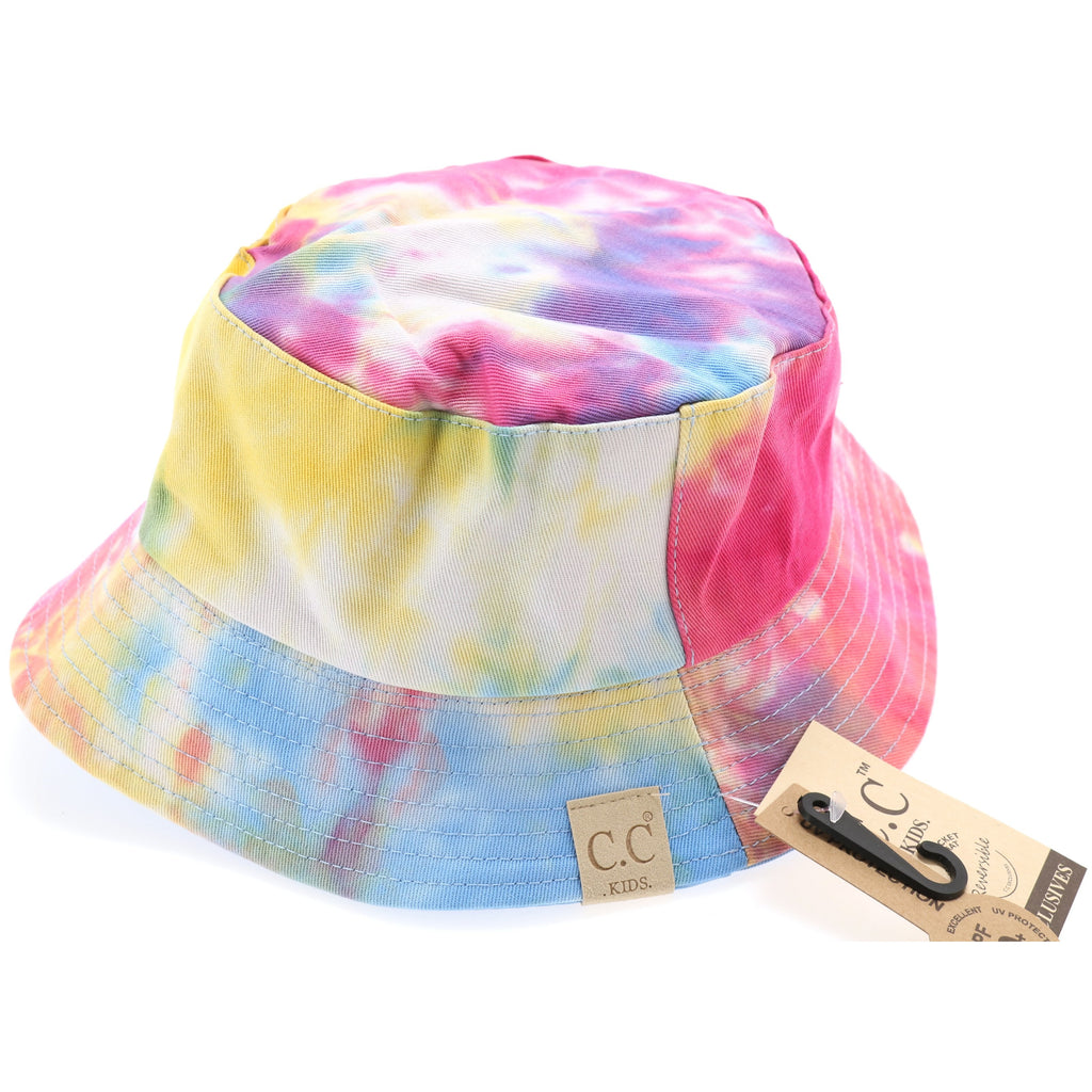 Kids Tie Dye Reversible CC Bucket Hat KIDS2176