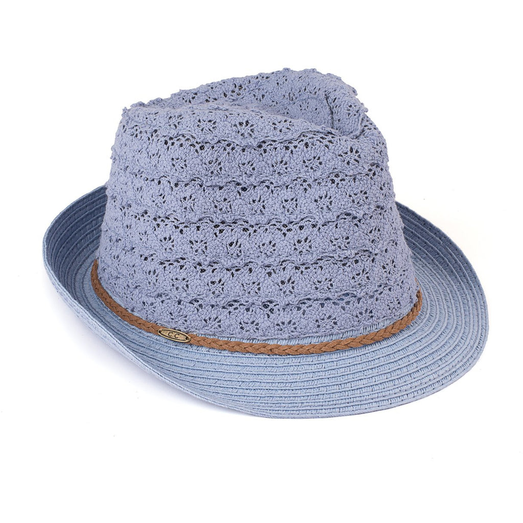 Children's Lace Fedora ST44