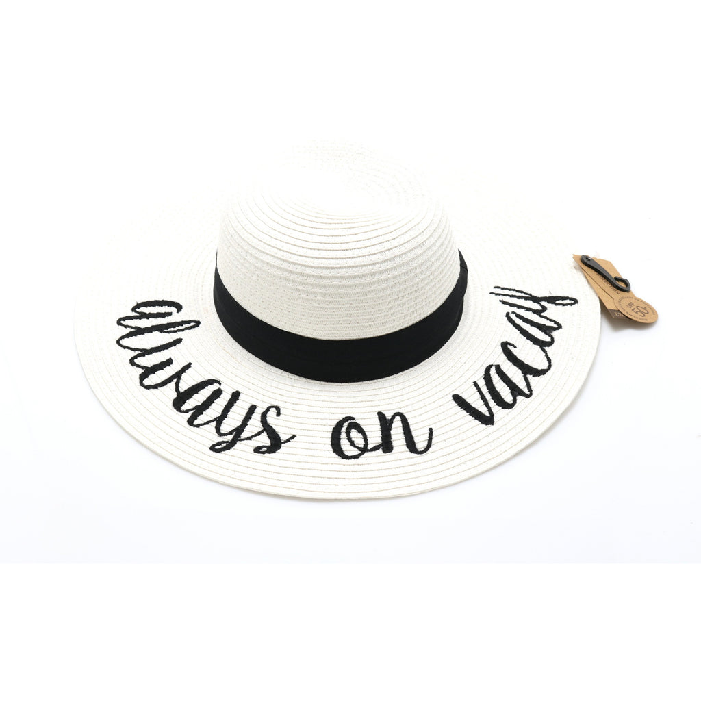 Always on Vacay Sun Hat ST2017
