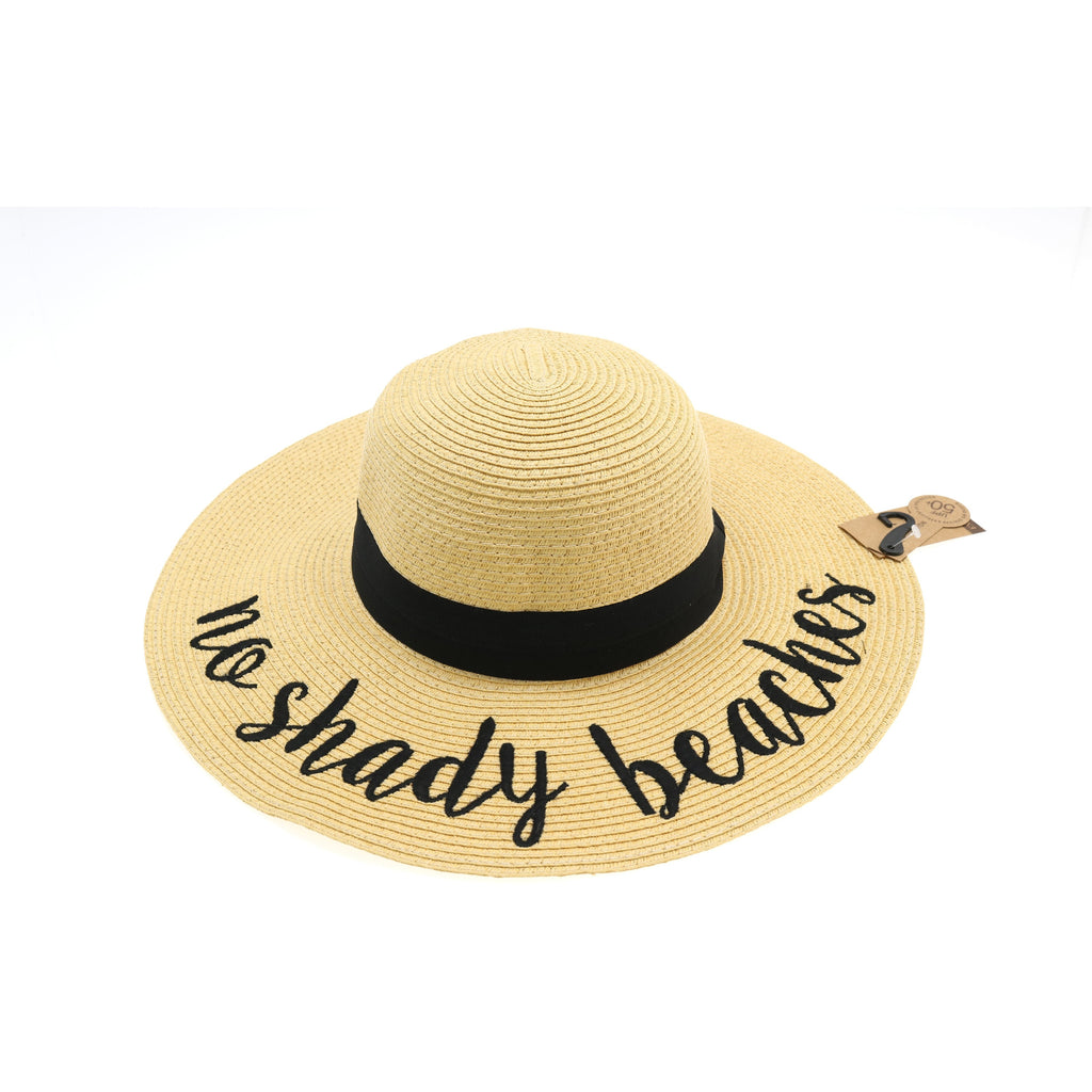 No Shady Beaches Sun Hat ST2017