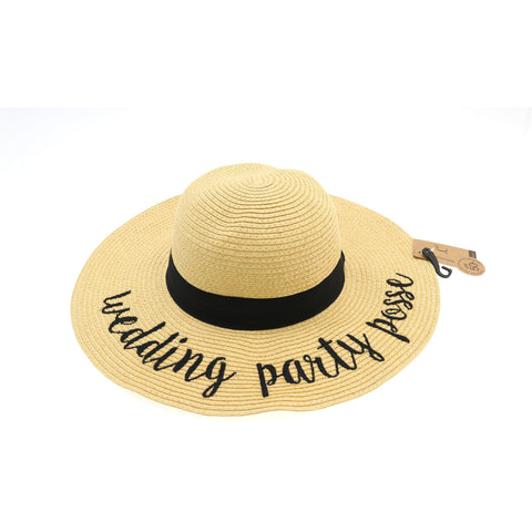 b3564f5e483 Wedding Party Posse Sun Hat ST2017