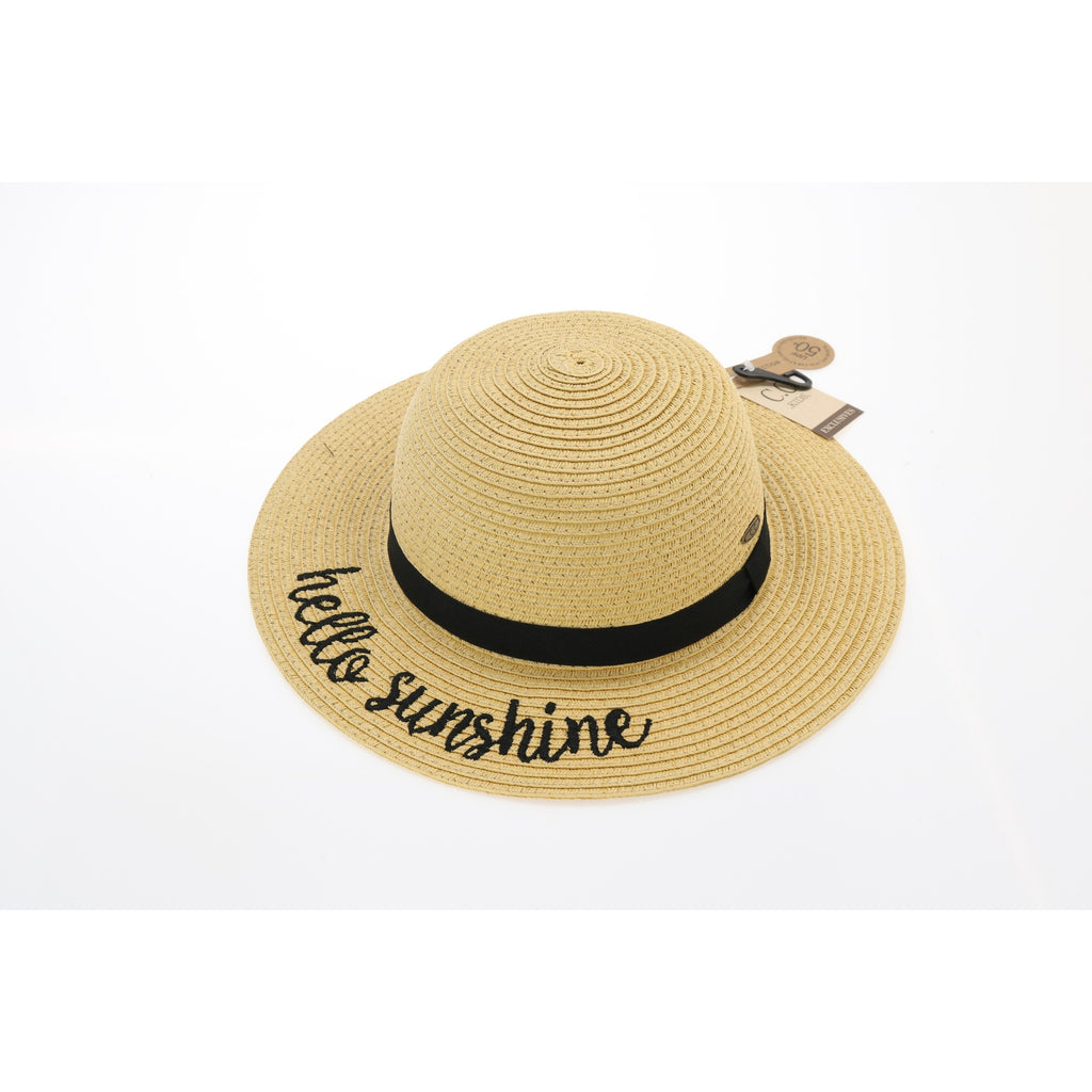 Kids Hello Sunshine Sun Hat ST2017KIDS