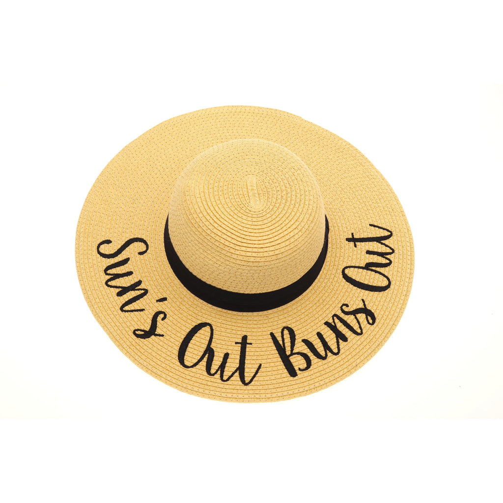 Suns Out Buns Out Sun Hat ST2017