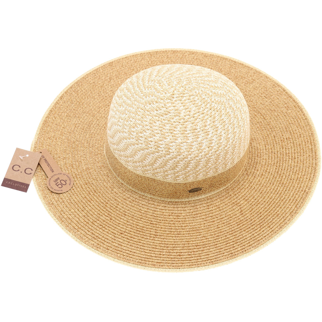 Braided Paper Sun Hat ST711