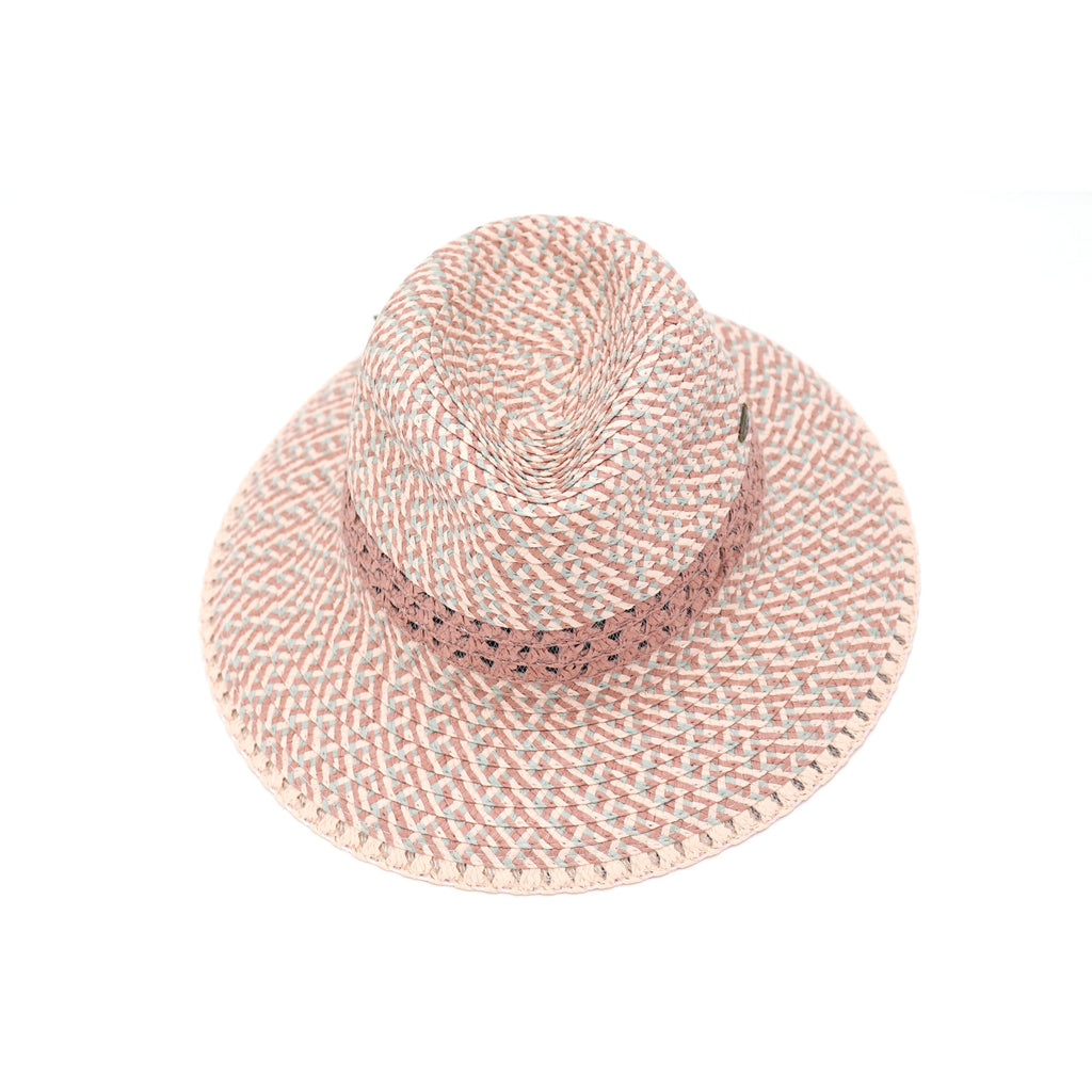 Triple Heather Panama Hat ST902