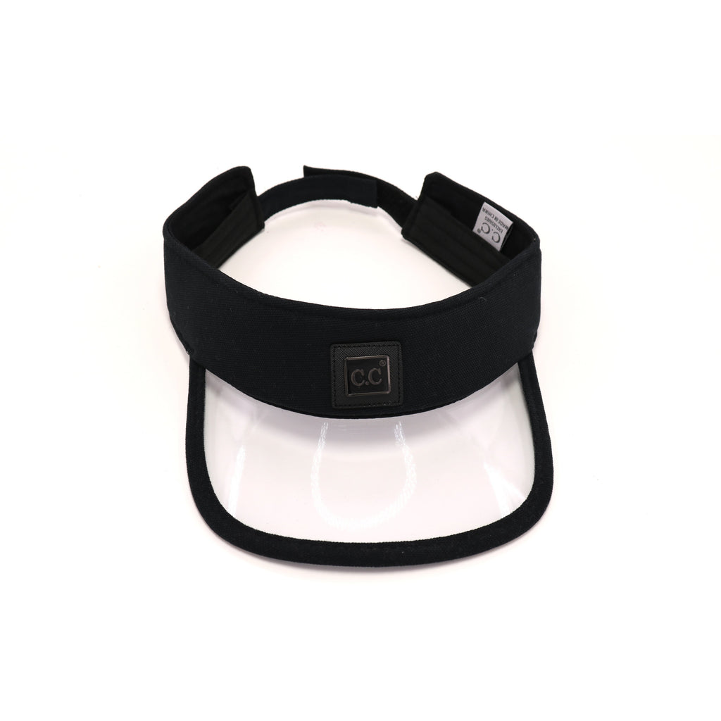 Canvas CC Visor with PVC Brim SV781