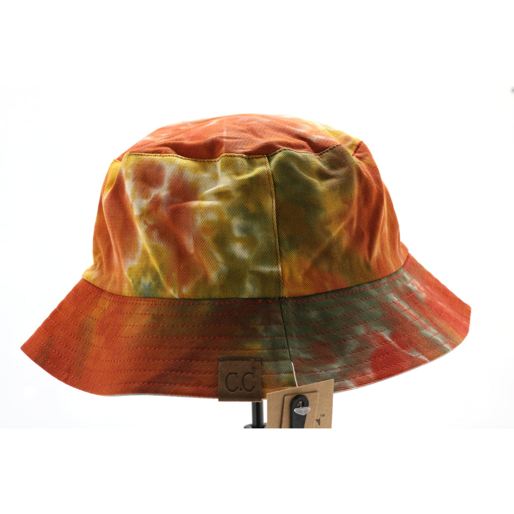 Tie Dye Reversible CC Bucket Hat ST2176