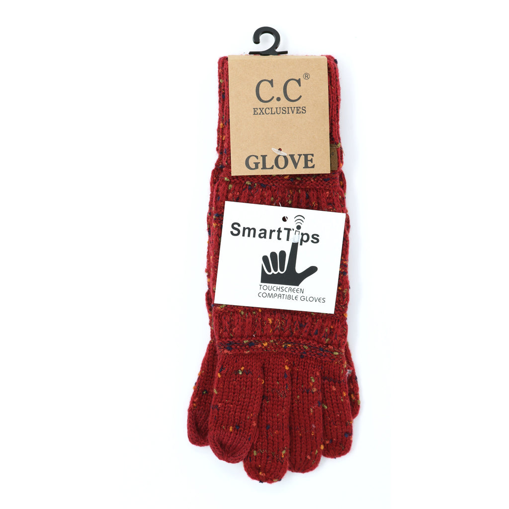 Flecked CC Gloves