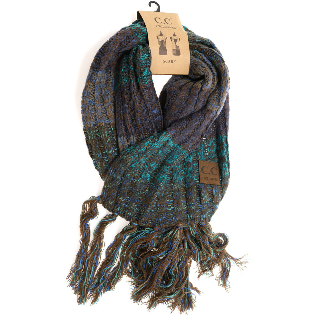 Tri-Color CC Scarf SF1816