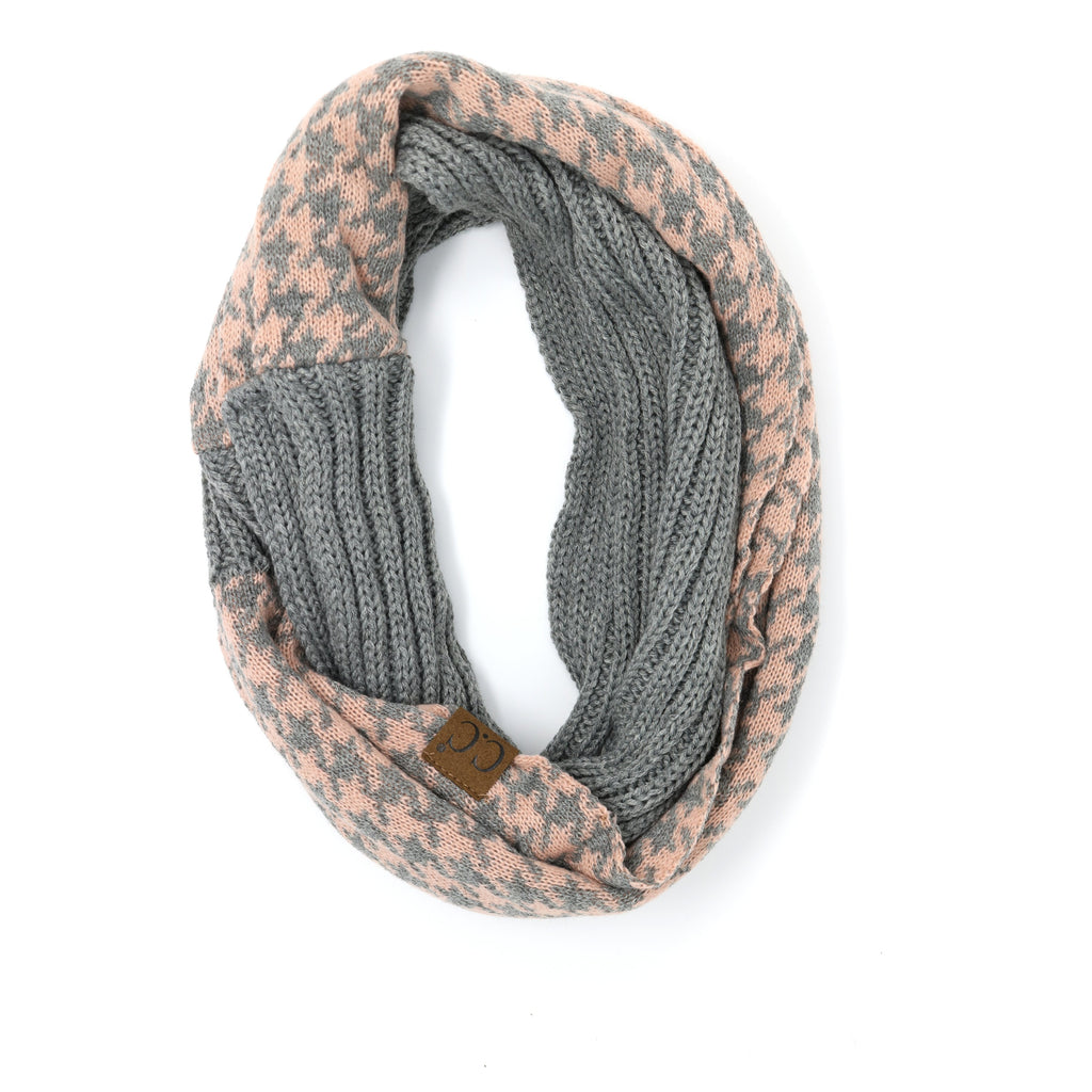 Houndstooth CC Infinity Scarf SF12