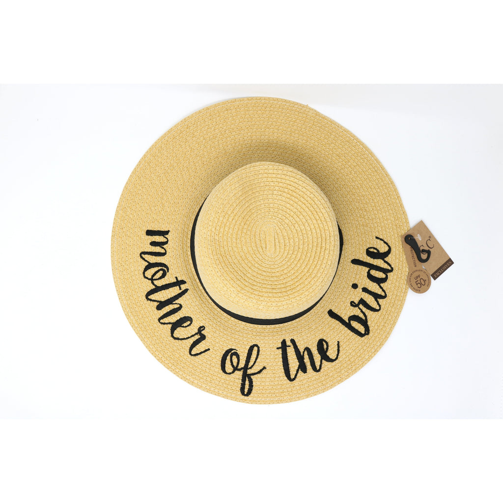 Mother Of The Bride Sun Hat ST2017