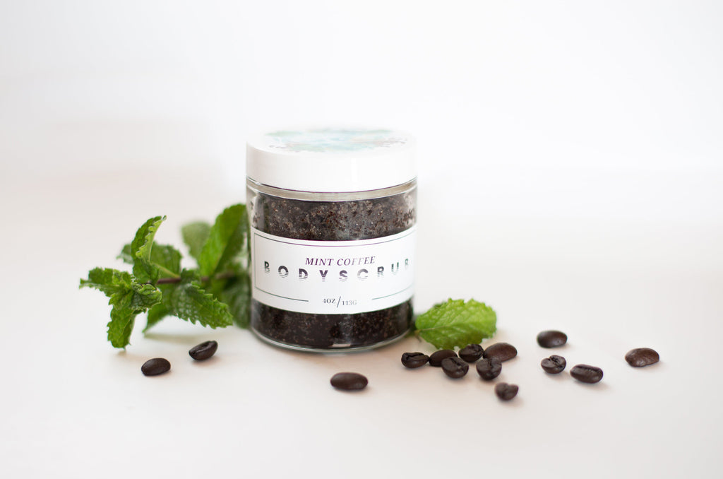 Mint Coffee Body Scrub