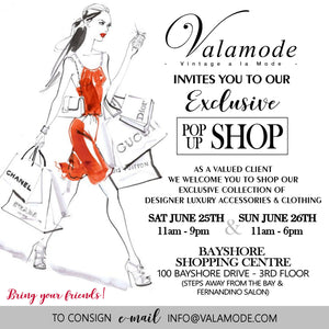 Valamode Ottawa Pop Up Shop at Bayshore Shopping Centre