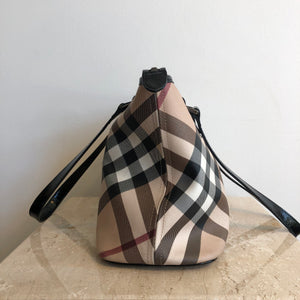 Authentic BURBERRY Canvas Check Tote