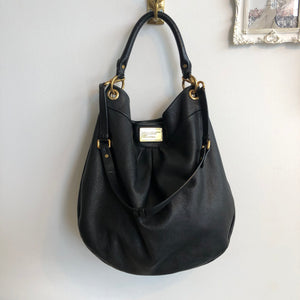 Authentic MARC BY MARC JACOBS Large Black Hobo Crossbody