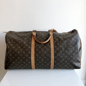 Authentic LOUIS VUITTON Vintage Monogram Keepall 60